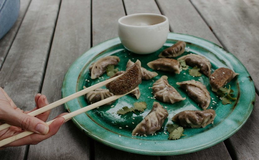 Mushroom Potstickers